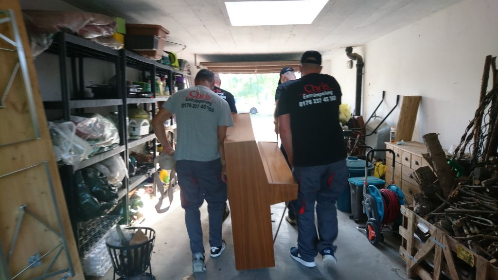 Garage entrümpeln
